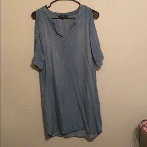 I'm selling a jean dress from velvet heart.